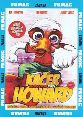 DVD - Kačer Howard