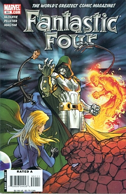 EN - Fantastic Four (1998 3rd Series) #551A