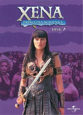 DVD - Xena: Princezna bojovnice - Disk 07 (sezóna 1, epizoda 17-18)