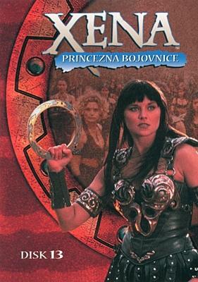 DVD - Xena: Princezna bojovnice - Disk 13 (sezóna 2, epizody 05-06)