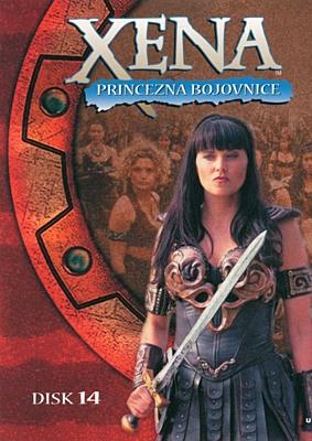 DVD - Xena: Princezna bojovnice - Disk 14 (sezóna 2, epizody 07-08)
