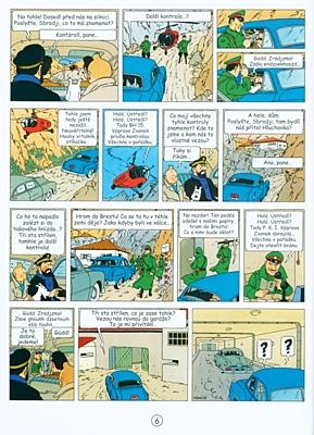 Tintinova dobrodružství 16: Míříme na Měsíc