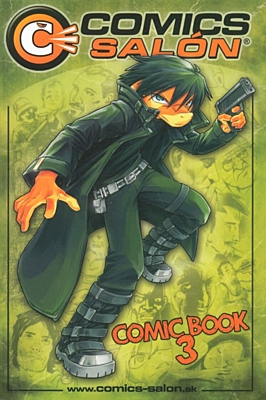 Comics Salón: Comics & Manga Book 3