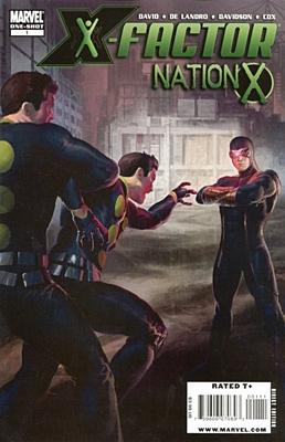 EN - Nation X: X-Factor (2010) #1