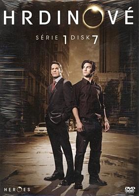 DVD - Hrdinové - sezóna 1, disk 7