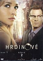 DVD - Hrdinové - sezóna 2, disk 1