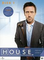 DVD - Dr. House - sezóna 1, disk 1