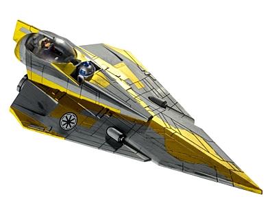 Star Wars EasyKit: Anakin's Jedi Starfighter - Clone Wars (06665)