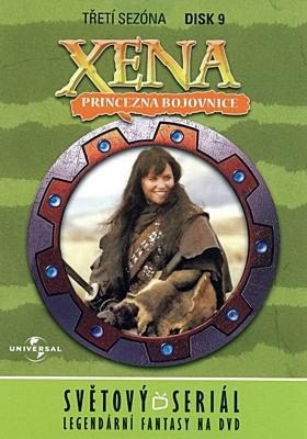 DVD - Xena: Princezna bojovnice - Disk 30 (sezóna 3, epizody 17-18)