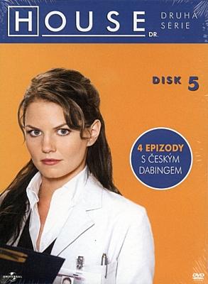 DVD - Dr. House - sezóna 2, disk 5