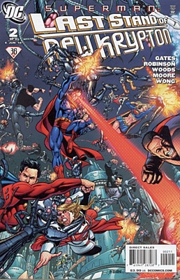 EN - Superman: Last Stand of New Krypton (2010) #2A