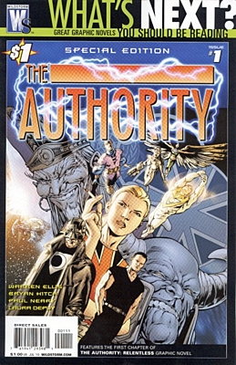 EN - Authority (1999 1st Series) #01 Special Edition