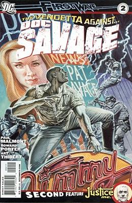 EN - Doc Savage (2010 3rd Series) #02A
