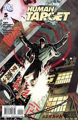 EN - Human Target (2010 3rd Series) #5