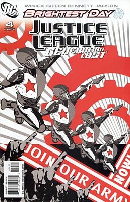 EN - Justice League: Generation Lost (2010) #4A