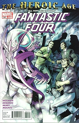EN - Fantastic Four (1998 3rd Series) #581