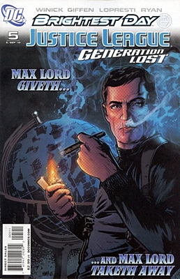 EN - Justice League: Generation Lost (2010) #5A