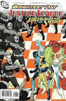EN - Justice League: Generation Lost (2010) #8A
