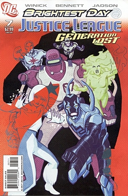 EN - Justice League: Generation Lost (2010) #7A