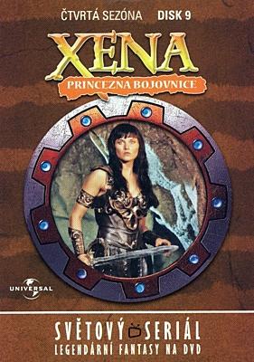 DVD - Xena: Princezna bojovnice - Disk 41 (sezóna 4, epizody 17-18)