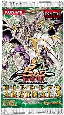 Yu-Gi-Oh: Hidden Arsenal 3 Booster