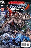 EN - Justice League of America (2006 2nd Series) #55A