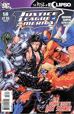 EN - Justice League of America (2006 2nd Series) #58A