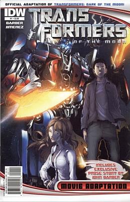 EN - Transformers: Dark of the Moon Movie Adaptation (2011) #1