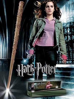Harry Potter - Svítící kouzelnická hůlka Hermione Granger