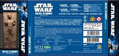 Star Wars - Silikonová formička na led - Han Solo in Carbonite