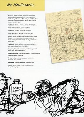 Tintinova dobrodružství 24: Tintin a alf-art