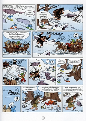 Šmoulové: Šmoulí zima