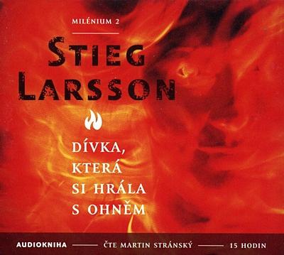 Dívka, která si hrála s ohněm (2x MP3 CD)