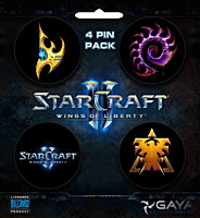 StarCraft 2: Wings of Liberty - placky 4ks