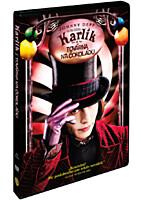 DVD - Karlík a továrna na čokoládu