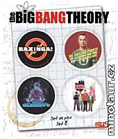 Big Bang Theory - Placky 4ks Set B