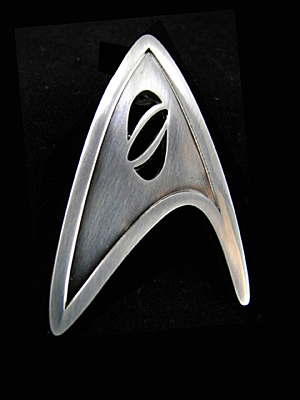 Star Trek 2009 - Starfleet Science Division Badge Replica 1/1