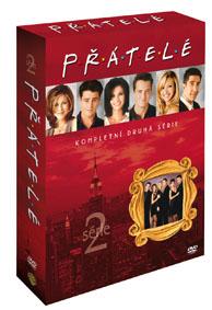 DVD - Přátelé 2. série (4 DVD)