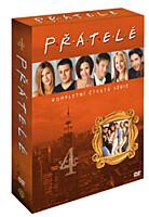 DVD - Přátelé 4. série (4 DVD)