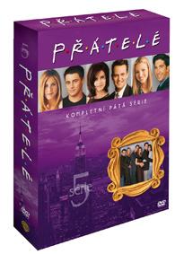DVD - Přátelé 5. série (4 DVD)