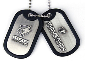 Metal Gear Rising - Dog Tags MSC Logo