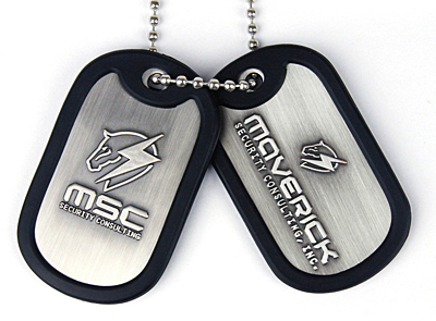 Metal Gear Rising - Dog Tags MSC Logo