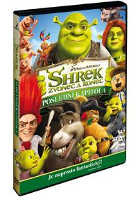 DVD - Shrek: Zvonec a konec