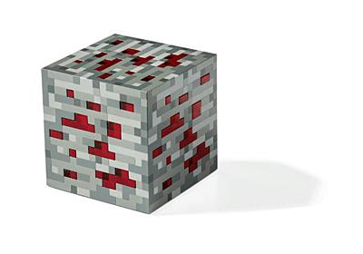 Minecraft - Noční světlo Redstone Ore