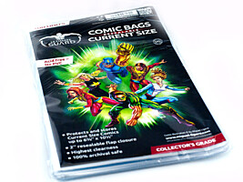 "Comic Bags - Resealable Current Size (6 7/8""x10 1/2"") (100ks) Ultimate Guard"