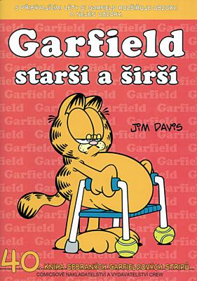 Garfield 40: Starší a širší