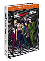 DVD - Teorie velkého třesku - 6. série (3 DVD)