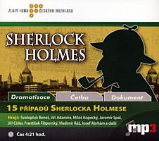 15 případů Sherlocka Holmese (MP3 CD)