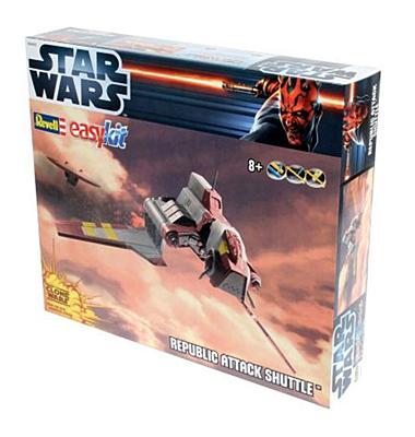 Star Wars EasyKit: Republic Attack Shuttle (06683)