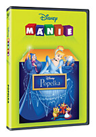DVD - Popelka (edice Disney mánie)